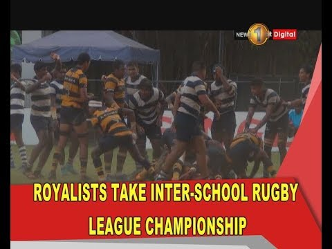 Royal College take inter-schools rugby league championship