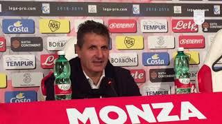 """#MnzTer (0-1. Dalla sala stampa del """"Brianteo"""" le impressioni post-gara di mister Maurizi"""
