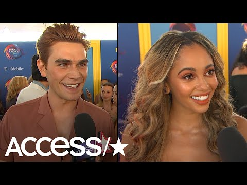 KJ Apa & Vanessa Morgan Share Excitement Over Mark Consuelos' Son Guest Starring On 'Riverdale'