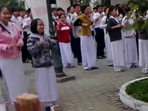 Dân vũ Lê Quý Đôn Bình Định 2012 - Chicken Dance