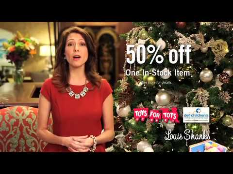 Great Louis Shanks Furniture Holiday Commercial   Toys For Tots