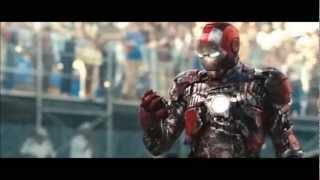 IRON MAN 2 - Monaco Fight Scene [HD]