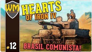 HOI4 Brasil Comunista #12 - Neymar, Messi e Suarez reunidos! - Gameplay PT BR
