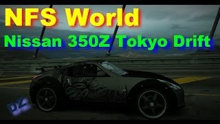 NFS World vinyl - Nissan 350Z (Fast and the Furious Tokyo Drift)