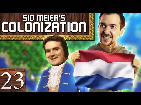 Sid Meier's Colonization #23 - Kiss That Butt |