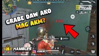Grabe daw ako mag AKM?? [TAGALOG] (Rules of Survival: Battle Royale)