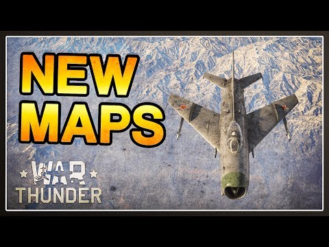 Vietnam and Afghanistan New Maps Showcase - War Thunder 1.85