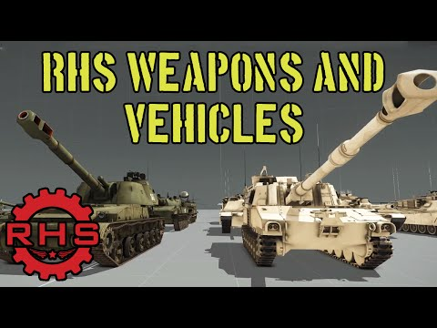 RHS 0.3.5 Update! - All Weapons and Vehicles Overview