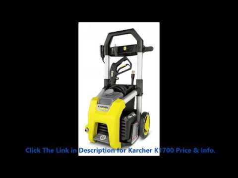 Falling Love Karcher K1700 Pressure Washer 1700 PSI Reviews By minba