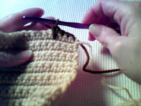 How To Crochet Long Single Crochet Aka Single Crochet Spike