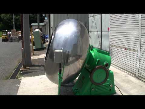KP65 糖衣機 レボリングパン 畑鉄工所 中古機械買取田島化学機械