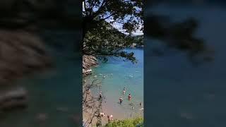 Изумрудный пляж около Портофино! Шикарный курорт Италии!!