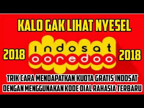 HEBOH INDOSAT JEBOL !!! Kode Dial Kuota Gratis Indosat Terbaru 2018