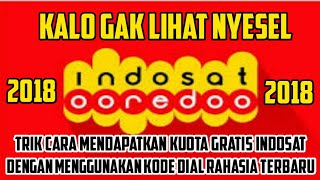 Video HEBOH INDOSAT JEBOL !!! Kode Dial Kuota Gratis Indosat Terbaru 2018 download MP3, 3GP, MP4, WEBM, AVI, FLV September 2018