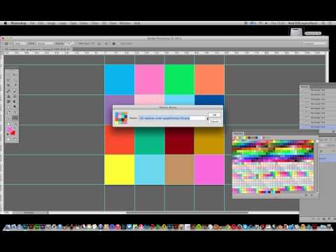 How To Create Random Filled Square Design In Photoshop