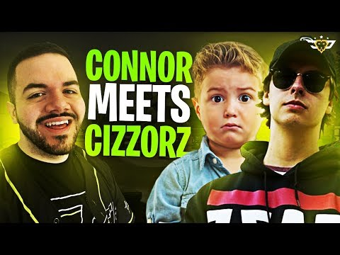 CONNOR MEETS CIZZORZ! HE LETS HIM DIE?! (Fortnite: Battle Royale)
