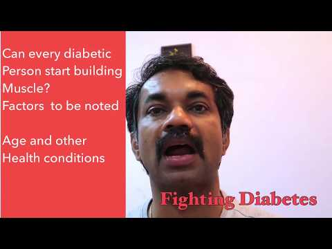 Can every diabetic person build muscles? - Fighting Diabetes
