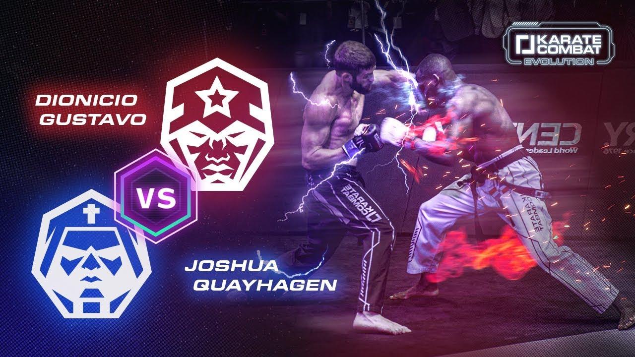 Karate Combat Evolution: Dionicio Gustavo vs Josh Quayhagen (4K Hero Cut)