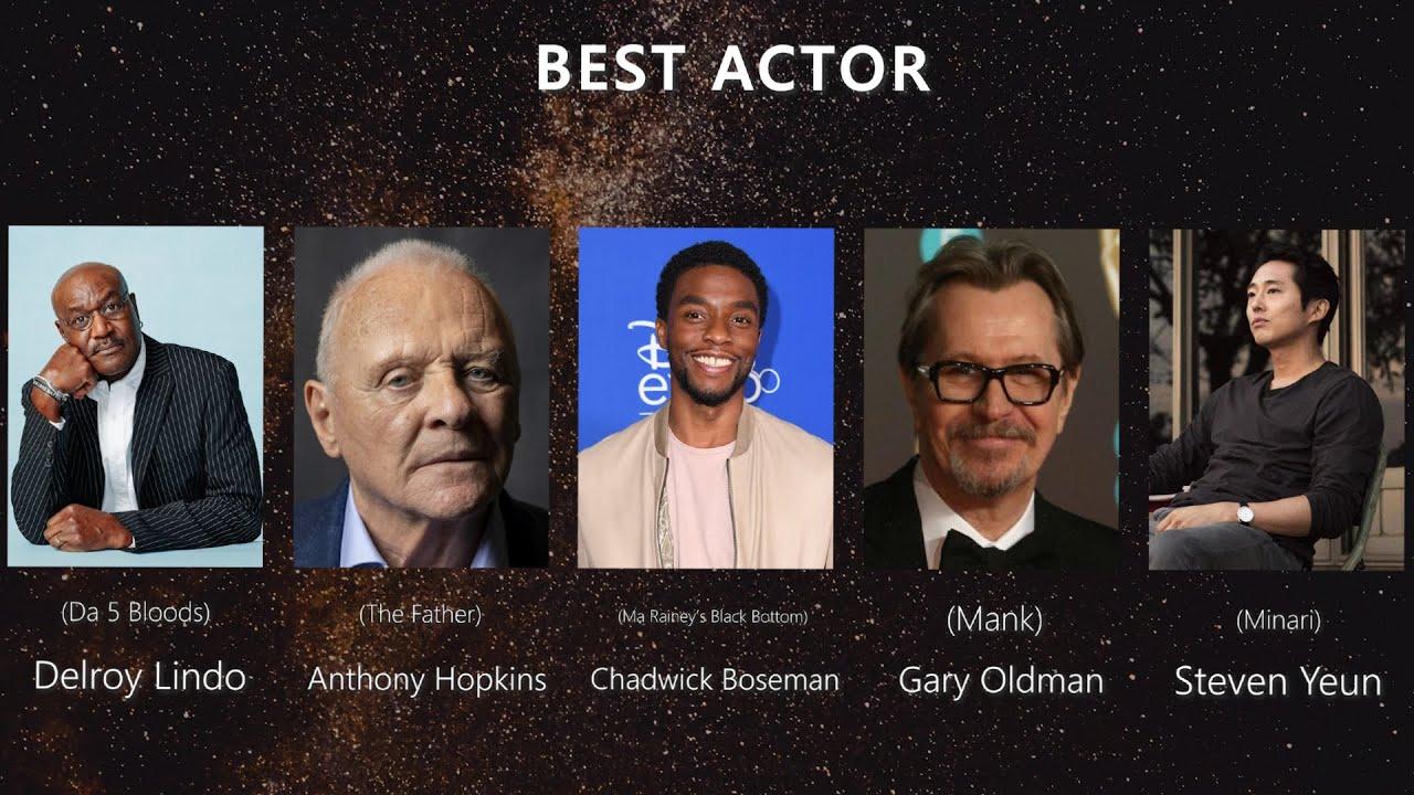 Oscar Predictions 2021 - Nominees - YouTube