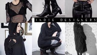 Baixar Indie Designer ALL BLACK Fashion Look Book