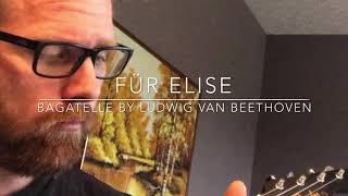 Für Elise Beethoven Ukulele Tab | Zoubeck