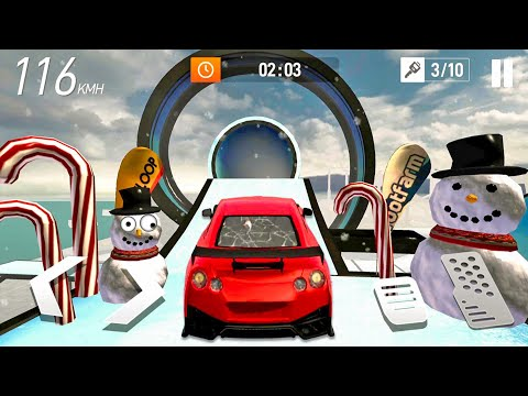 Car Stunt Races: Mega Ramps #2 Free Ride - Car Games! Android Gameplay