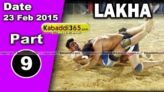 Lakha (ludhiana) Kabaddi Tournament 23 Feb 2015  Part 9 by Kabaddi365.com