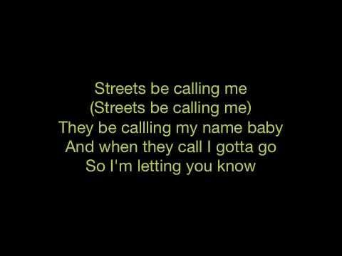 Trey Songz - Gotta Go - Lyrics - SANFRANCHINO