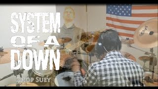 SYSTEM OF A DOWN - Chop Suey - Cover by Joey and Alex (HD)