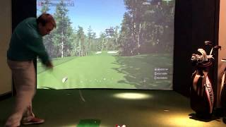 TrackMan and TGC. Augusta National