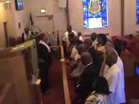 Rev. Samuel W. Whittaker led the Altar Call & Pastoral Prayer. 09-15-13.