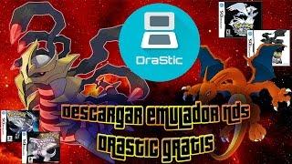 Descargar emulador Drastic gratis para Android!!! - Jugando a juegos Pokémon