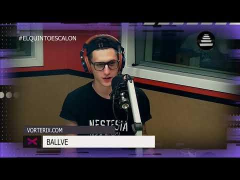 BALLVE - ENTREVISTA COMPLETA - El Quinto Escalon Radio (28/11/17)