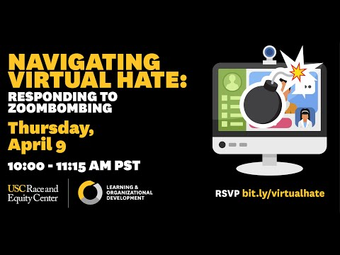 Navigating Virtual Hate: Responding to Zoombombing