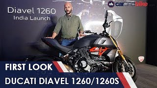 2019 Ducati Diavel 1260 First Look