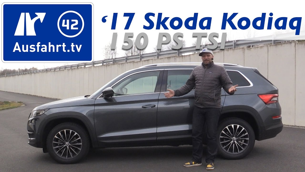 2017 skoda kodiaq 1 4 tsi 150ps fwd style fahrbericht der probefahrt test review youtube. Black Bedroom Furniture Sets. Home Design Ideas