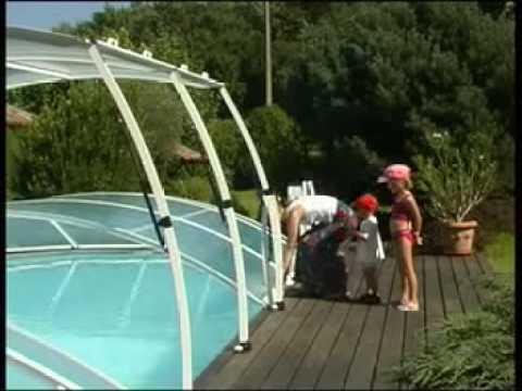 Ergonomie des abris de piscine Abrideal