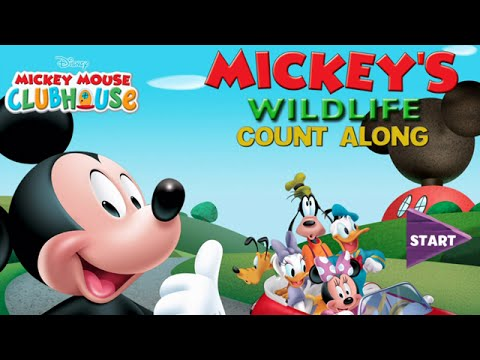Mickey Mouse Clubhouse - Full Episodes of Wildlife Count Along Game (Disney Jr. App) - Walkthrough