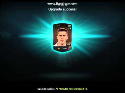 Fifa Online 3 Singapore - Player Upgrade In Slow Motion