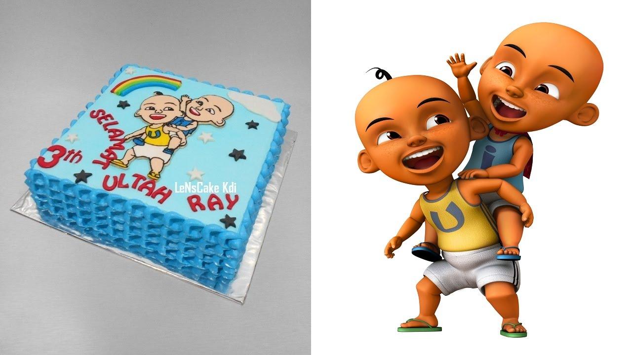 Upin Ipin Birthday Cake YouTube