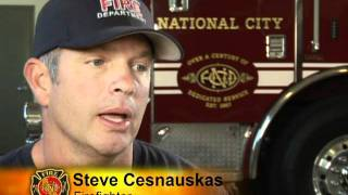 National City, California Fire Fighters