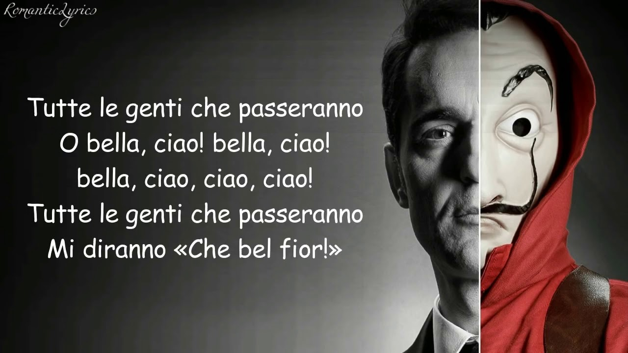 Ciao Bella Song