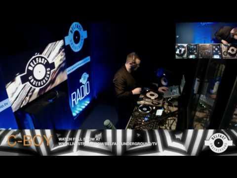 C BOY Live On Belfast Underground Radio 20 4 17