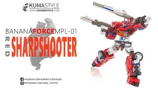 Toy Review: Banana Force MPL-01 Red Sharpshooter (R.I.D. Optimus Prime)