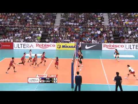 U23: Japan vs. Philippines Set 1