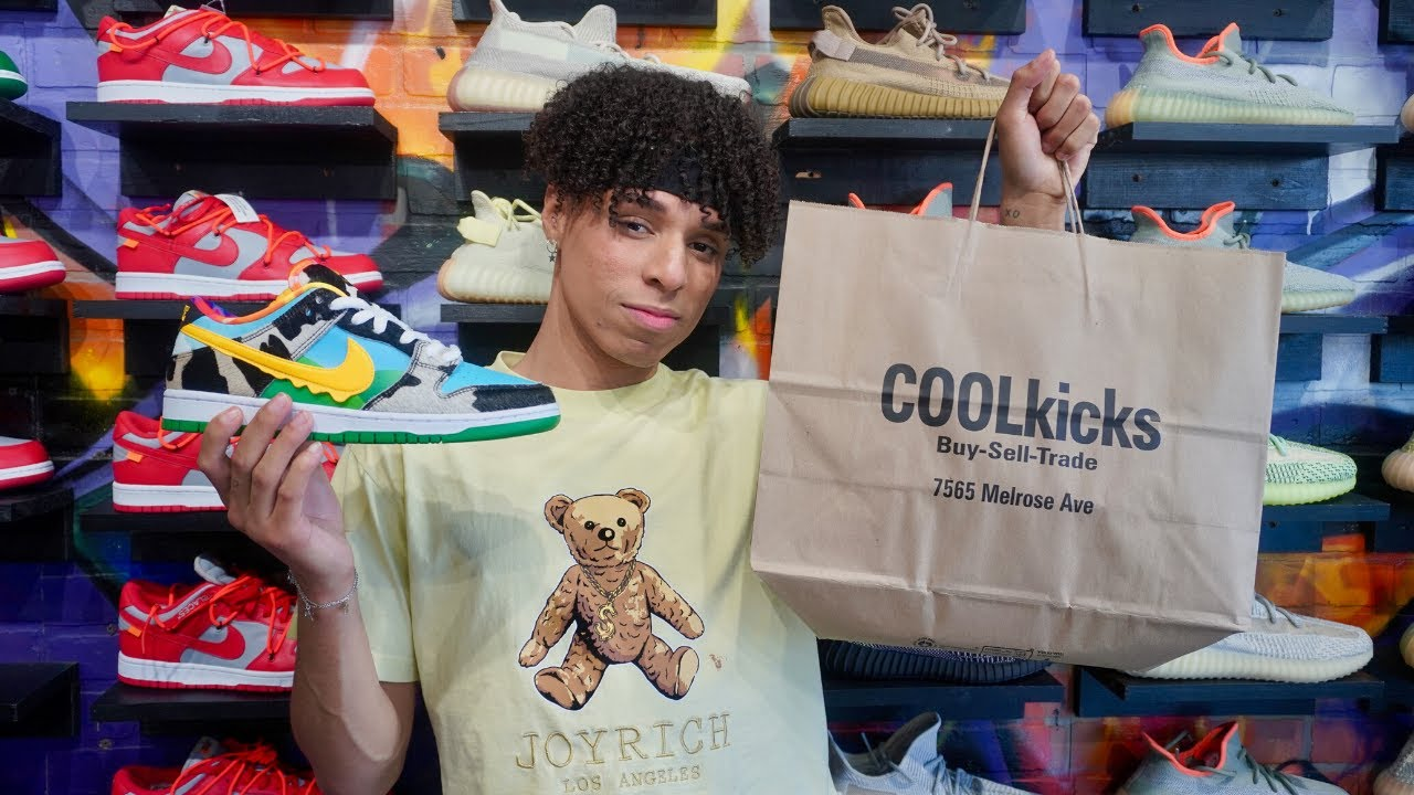 LARRAY Goes Shopping For Sneakers With CoolKicks