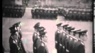 ХВВКИУ РВ. Вручение дипломов и торжественный марш