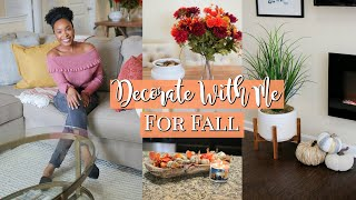 ULTIMATE FALL DECORATE WITH ME + FALL DECOR HOME TOUR!! 🍂| SIMPLE & EASY FALL DECOR IDEAS 2019!