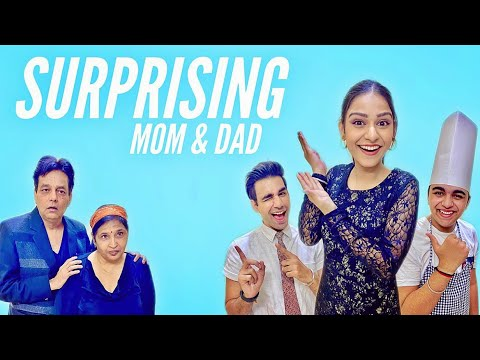 SURPRISING MY MOM & DAD WITH DINNER DATE | Rimorav Vlogs