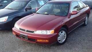 1996 Honda Accord EX Coupe 5-spd Walkaround
